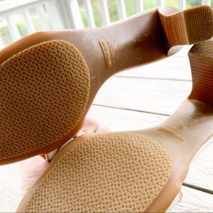 Coach Shoes - COACH Deven Leather Slide On Heels